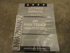 2006 Dodge Ram Truck 1500 2500 3500 SRT-10 Diesel Service Manual OEM Volume 4