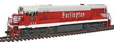 HO Scale GE U25C Locomotive w/DCC & Sound - CB&Q #558 - Rivarossi #HR2531