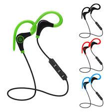 Wireless Headset Earphone Sport Stereo Headphone Bluetooth For iPhone Samsung LG