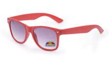 Gafas de sol de hombre rojo rojo cuadrados