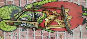 Used Iverson CHARGER Banana Seat Muscle Bike Bicycle FRAME GUARD FORK PROJECT