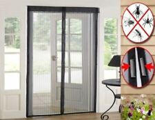 SET OF 3 MAGIC MESH MAGNETIC CURTAIN NET SCREEN FLY MOSQUITO INSECTS BUGS DOOR