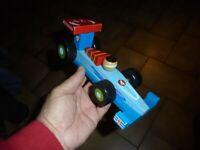 Ancien Jouet Bois : Formule 1 de chez Maxita  : 20cm