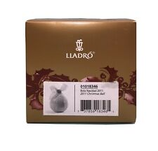 Lladro 2011 Christmas Ball Ornament. New In Box. #01018346