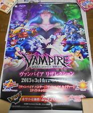 Game Official Promo Poster Vampire Resurrection DarkStalkers PS3 CAPCOM Size B2
