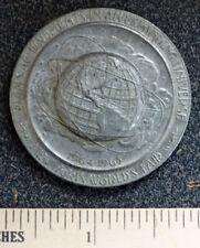 1964 Founding of NEW YORK 300th Anniversary WORLD'S FAIR Medal Medallion Token