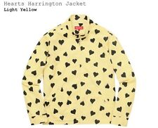 SUPREME HEARTS HARRINGTON YELLOW JACKET SIZE: MEDIUM LIMITED (SOLD OUT)