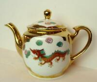 Dragon and Cock Japanese Tea Pot Vintage