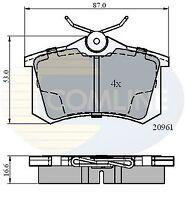 Comline Rear Brake Pad Set CBP0797  - BRAND NEW - GENUINE - 5 YEAR WARRANTY