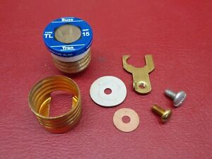 FPE Federal Pacific Edison Base Type W Fuse Holder Shell Base Repair Parts