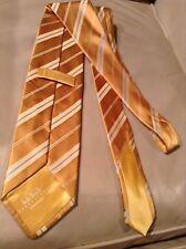 NEW $225 Italo Ferretti  By BRIONI Multicolor Stripes Silk Tie From Italy NWOT