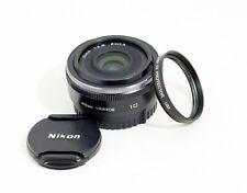 Nikon Nikkor 10mm F/2.8 Black Lens Nikon 1 System CX Format V1 V2 V3 J1 J3 J5