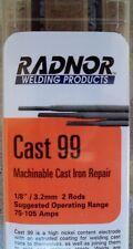 "Radnor 64001722 Cast 99 Maintenance Electrode 1/8"" Rods QTY 2"