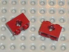 LEGO TECHNIC DkRed brick 1x2 ref 32064 / Set 10196 8877 7674 7017 10197 ...