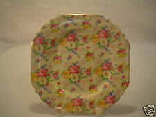 """STUNNING LORD NELSON """"ROSE TIME"""" CHINTZ 8"""" SQUARE PLATE"""