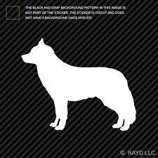 (2x) Siberian Husky Sticker Die Cut Decal Self Adhesive Vinyl dog canine pet