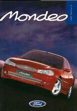 Ford Mondeo 1997-98 UK Market Sales Brochure ST24 Ghia X Si GLX LX Aspen