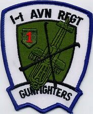 1-1 AVN Regt Gunfighters BC Patch Cat No C6004