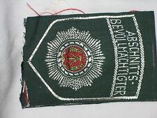 Original East German Vintage Police Shoulder Insignia – Abschnitts Bevollmachtig