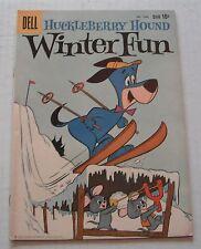 Four Color # 1054--Huckleberry Hound ..VF grade--A..1959 Hanna-Barbera comic