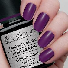 PURPLE RAIN Soak Off LED/UV Gel Nail Polish Colour -Lilac Shimmer