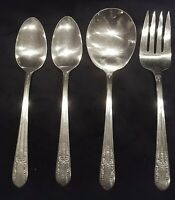 Wm Rogers 4pc Jubilee Serving Set, Vintage Wm Rogers Extra Plate, Flatware Set