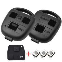 For Toyota RAV4 Yaris Prado Yaris Tarago Car Key Pad Switch Shell