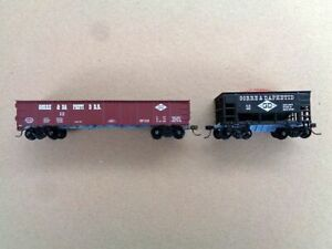 Gorre & Daphetid HO Scale Freight Cars - Gondola and Ore Cars, Used - Excellent