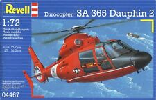 1:72 SCALE INJECTION MOLDED EUROCOPTER SA 365 DAUPHIN 2 by REVELL
