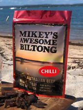 Mikeys Awesome Biltong - Chilli Flavour 225grams