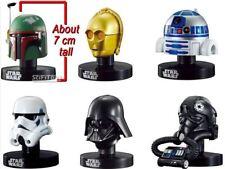 Star Wars Mini Helmet Bandai Vader C3PO R2D2 Boba Fett Tie Fighter Stormtrooper