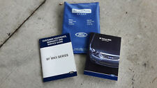 Service and owner books with folder for Ford Falcon BF MKII XR6 XR8 Fairmont