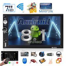 """2 DIN 7"""" Radio De Coche Pantalla táctil GPS NAV WIFI BLUETOOTH Android 8.1"""