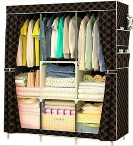 Multi-purpose Non-woven Cloth Wardrobe Fabric Closet Portable Folding Dustproof