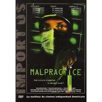 MALPRACTICE -NEUF DVD REGION 2