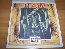"""Spandau Ballet - Raw -  7 """" Single"""