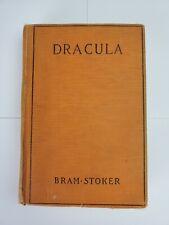 Dracula Bram Stoker 1897 1st. American Edition.