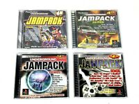 Playstation 1 Underground Jampack Demos , winter 2000, Summer 99, Winter 98