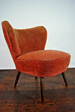 50er Retro Cocktail Sessel Vintage Easy Lounge Chair Mid-Century Clubsessel 7