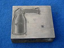 Reilang  Ölkanne Öler Klischee Stempel Druckplatte für Ölkannen Sammler