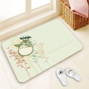 Custom Totoro Doormat Home Decor Pattern Door mat Floor Mat foot pad