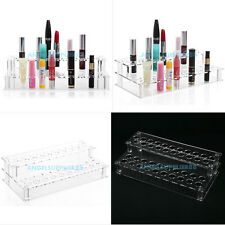 Clear Acrylic 41 Lipstick Holder Display Stand Cosmetic Organizer Makeup Case A