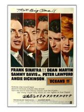 Oceans 11 (1960) Sinatra Dean Martin Davis Jr Lawford The Rat Pack 12x18 Poster