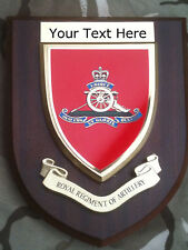Royal Artillery Personalised Military Wall Plaque UK Made for MOD new