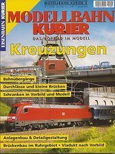 Eisenbahn Kurier EK Modellbahn Heft 8 Kreuzungen , Bahnübergänge etc.