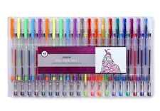 Gel Pens New Tray Set Large Glitter Neon Color Variety Packs Art Craft Pen Kit