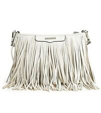 Rebecca Minkoff Rebecca Minkoff Large Finn Clutch, White, shoulder bag,purse New