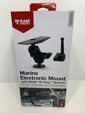 Ram-D-111-C-Knob9H Large Marine Electronics Mount w/ Ram® Hi-Torq Wrench, New!