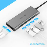 LENTION USB-C 3.1 HUB Type C to 4K HDMI Cable Adapter PD For Samsung Chromebook