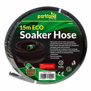 High Quality 15M Porous Soaker Hose Garden Irrigation Lawn Watering